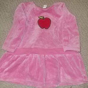 Infant Girls Baby Gap Velour Dress 12-18 mo